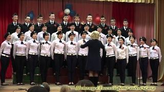 Бессмертный полк шествие 9 05 2015 и Битва хоров 3 школа  октябрь 2015