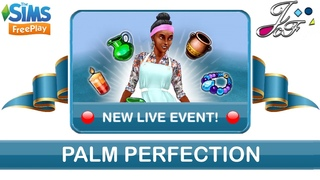 Sims FreePlay 🏝⛱ | LIVE EVENT 🔴| PALM PERFECTION | (Early Access) 🔑