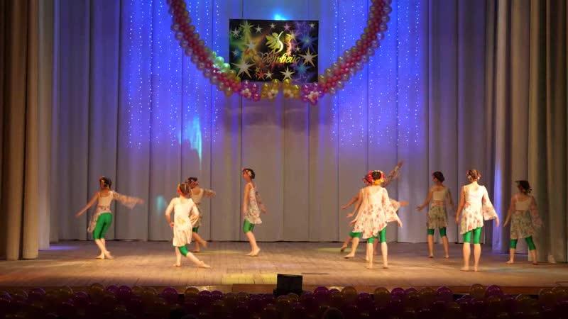 Танец На празднике Народный коллектив ансамбль эстрадного танца Эдельвейс ДК имени 1 Мая г Ульяновск