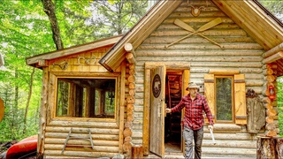 Three Fires | Dinner for 2 at the Cabin | Canning Tomato Soup on a Fire | Woodworking