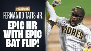 Fernando Tatís Jr. + Wil Myers hit EPIC HRs to put Padres ahead! (+ Tatís epic bat flip!)