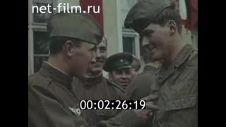 """1969г. Учения """"Одер- Нейсе-69"""" войск стран Варшавского Договора"""