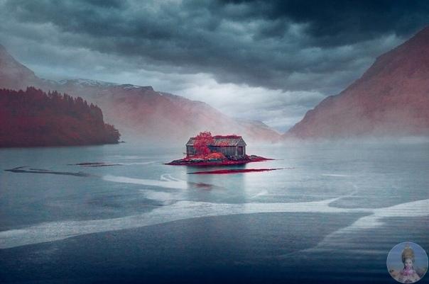 Норвегия в инфракрасном формате