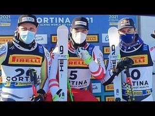 FIS Alpine Skiing World Championships - Men's Super G - Cortina d'Ampezzo ITA -